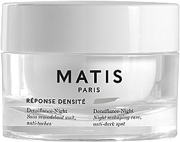 Kup PRZECENA! Krem do twarzy na noc przeciw zaskórnikom - Matis Reponse Densite Densifiance-Night *