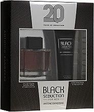Kup Antonio Banderas Seduction in Black - Zestaw (edt 100 ml + ash/balm 75 ml)
