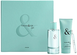 Kup Tiffany & Co Tiffany & Love For Her Gift Set - Zestaw (edp 90 ml + edp 4 ml + b/lot 100 ml)