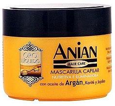 Kup Maska arganowa do włosów - Anian Liquid Gold Hair Argan Mask