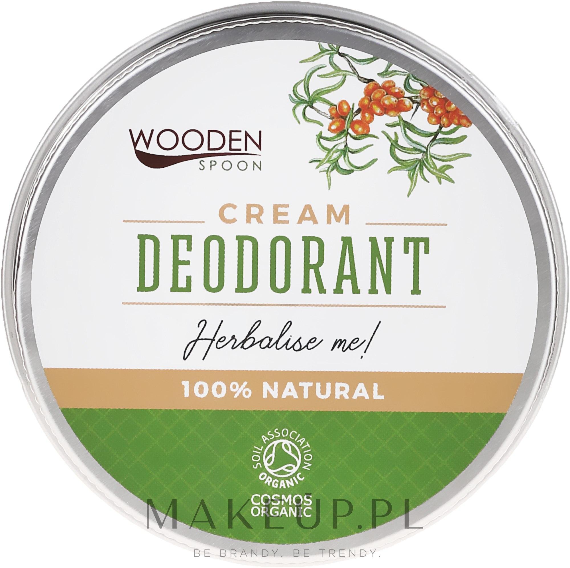 Naturalny dezodorant w kremie - Wooden Spoon Herbalise Me Cream Deodorant — фото 60 ml
