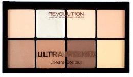 Kup Kremowa paleta do konturowania twarzy - Makeup Revolution HD Pro Cream Contour