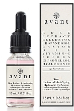 Kup Rozświetlające hialuronowe serum przeciwzmarszczkowe pod oczy - Avant Rose Radiance & Anti-ageing Hyaluronic Eye Serum