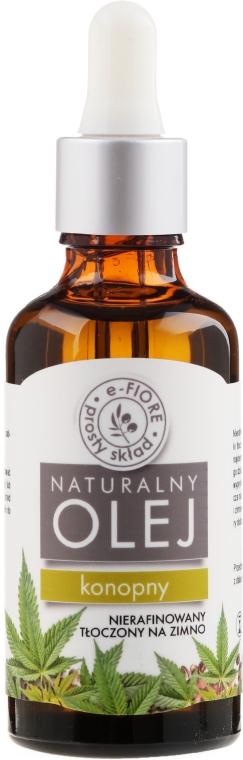 Naturalny olej konopny - E-Fiore