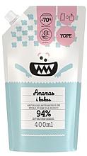Kup Antybakteryjne mydło dla dzieci Ananas i kokos - Yope (uzupełnienie)