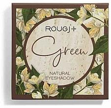 Kup Paletka cieni do powiek - Rougj+ Green Natural Eyeshadow Palette