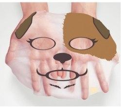Maseczka na tkaninie do twarzy Pies - Bioaqua Animal Dog Addict Mask — фото N3