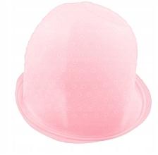 Kup Silikonowy czepek do pasemek, różowy - Deni Carte