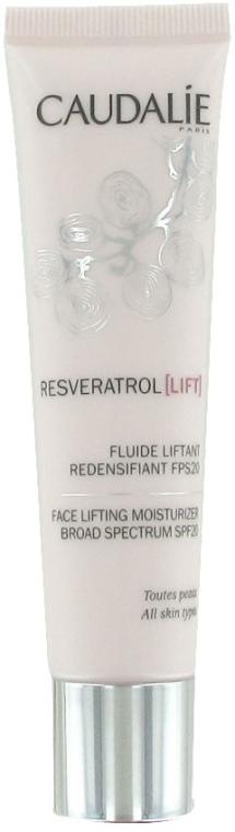 Nawilżający fluid liftingujący SPF 20 - Caudalie Resveratrol Lift Face Lifting Moisturizer — фото N1