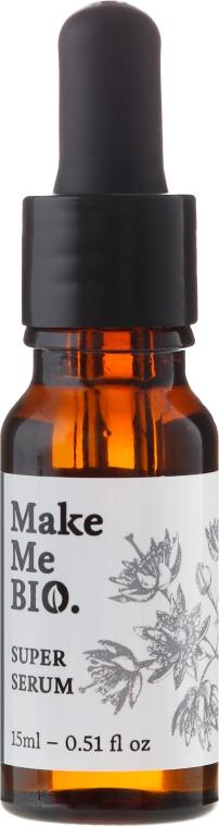 Intensywnie regenerujące serum do twarzy - Make Me Bio Super Serum — фото N3