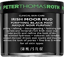 Kup Oczyszczająca maska do twarzy w płachcie - Peter Thomas Roth Irish Moor Mud Purifying Black Mask