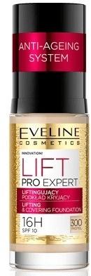 Liftingujący podkład kryjący do twarzy - Eveline Cosmetics Lift Pro Expert Lifting Covering Foundation