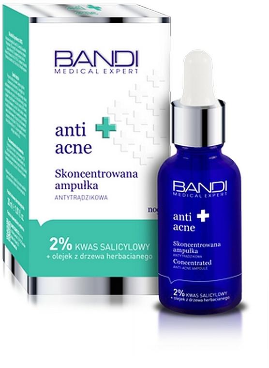 Skoncentrowany preparat antytrądzikowy z kwasem salicylowym - Bandi Medical Expert Anti Acne Concentrated Ampoule