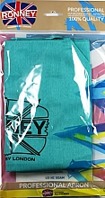 Kup Ochrony fartuch, niebieski - Ronney Professional Hairdressing Apron Azure