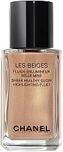 Kup Delikatny rozświetlacz we fluidzie do twarzy i ciała - Chanel Les Beiges Sheer Healthy Glow Highlighting Fluid