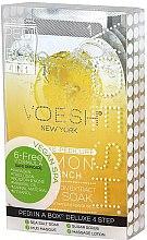 Kup Cytrynowy zestaw do pedicure - Voesh Pedi In A Box Deluxe Pedicure Lemon Quench