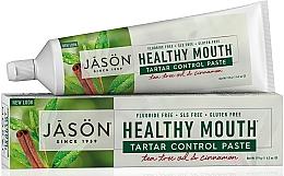 Kup PRZECENA! Pasta do zębów redukująca kamień nazębny - Jason Natural Cosmetics Healthy Mouth Tartar Control Toothpaste *