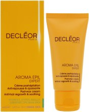 Kup Kojący krem spowalaniający odrastanie włosów - Decleor Aroma Epil Expert Post-Wax Cream