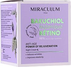 Krem do twarzy na noc - Miraculum Bakuchiol Botanique Retino Anti-Age Cream — фото N1