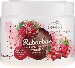 Kup Obłędnie owocowa maska do włosów farbowanych - Ovoc Rabarbar