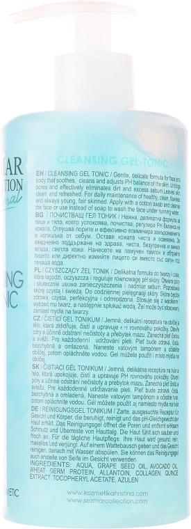 Oczyszczający żel-tonik do twarzy - Sezmar Collection Professional Cleansing Gel-Tonic — фото N2