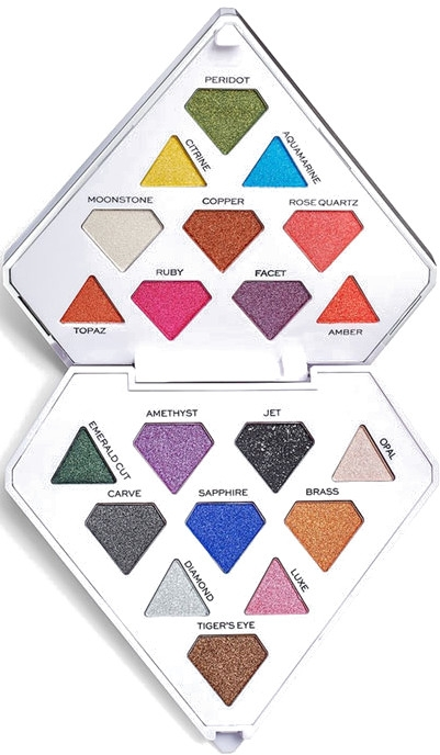 Paleta cieni do powiek - I Heart Revolution Diamond Bright Palette
