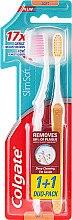 Kup Miękkie szczoteczki do zębów, żółta + różowa - Colgate Slim Soft Toothbrush