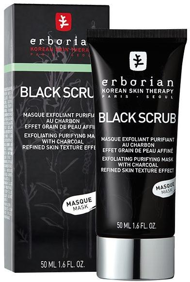Peeling-maska oczyszczająca z węglem aktywnym - Erborian Black Scrub Mask — фото N2