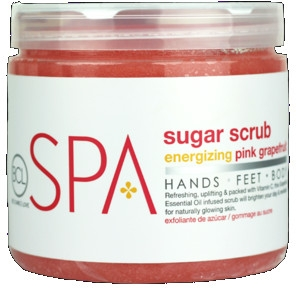 Peeling do ciała - BCL Spa Energizing Pink Grapefruit Rice Scrub — фото N1