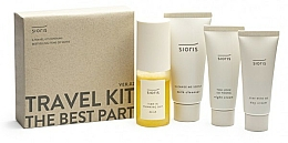 Kup Zestaw - Sioris Travel Kit (cleanser/30ml+mist/30ml+day/cr/15ml+night/cr/7ml)