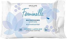Kup Orzeźwiające chusteczki do higieny intymnej - Oriflame Feminelle Refreshing Intimate Wipes