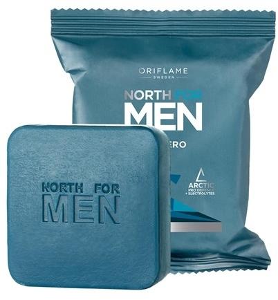 Mydło w kostce dla mężczyzn - Oriflame North For Men Subzero — фото N1