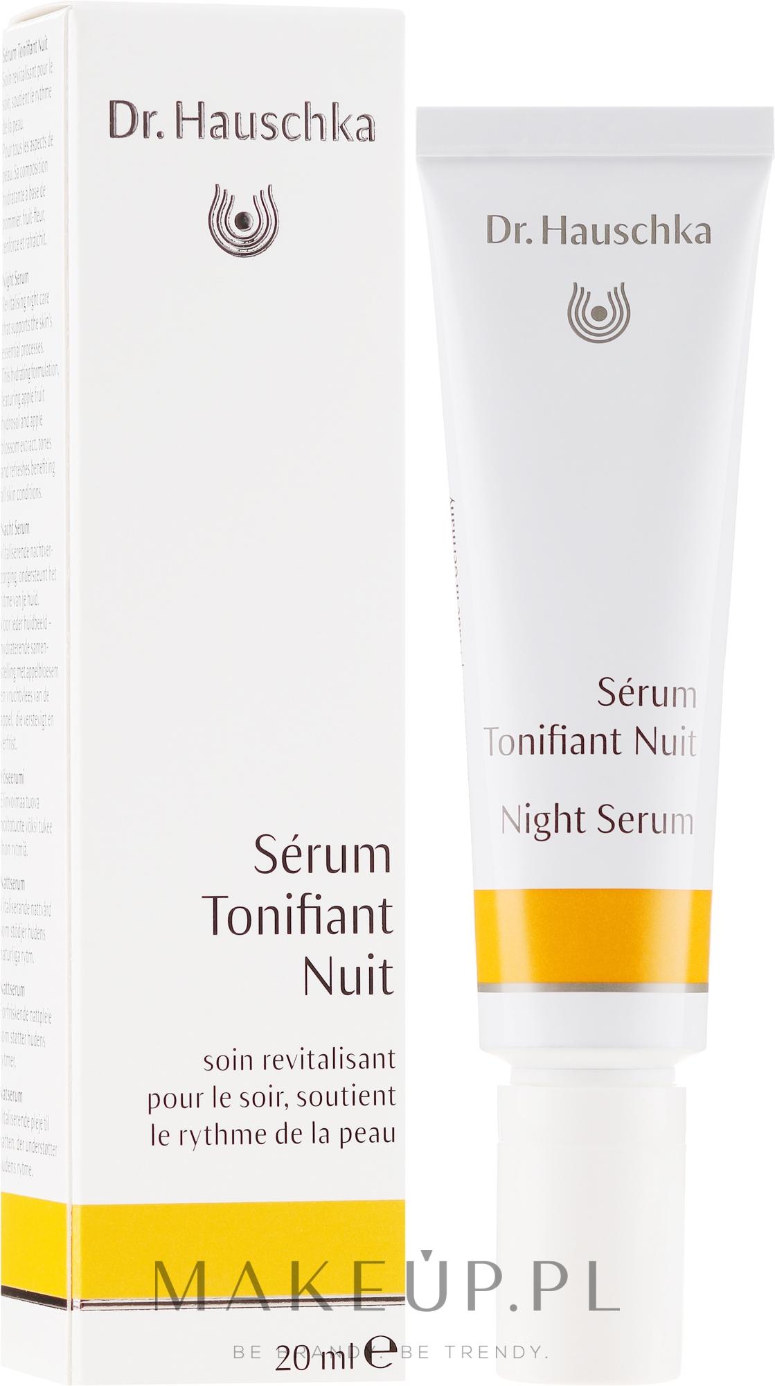 Serum do twarzy na noc - Dr. Hauschka Night Serum — фото 20 ml