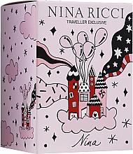 Kup Nina Ricci Nina - Zestaw (edt 80 ml + edt/roll 10 ml)