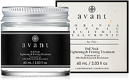 Kup Kuracja napinająca i ujędrniająca na szyję - Avant Skincare Full Neck Tightening & Firming Treatment