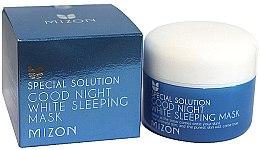 Kup Wybielająca maska do twarzy na noc - Mizon Good Night White Sleeping Mask