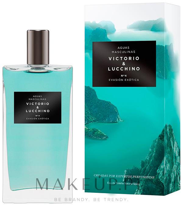 victorio & lucchino aguas masculinas - n°4 evasion exotica
