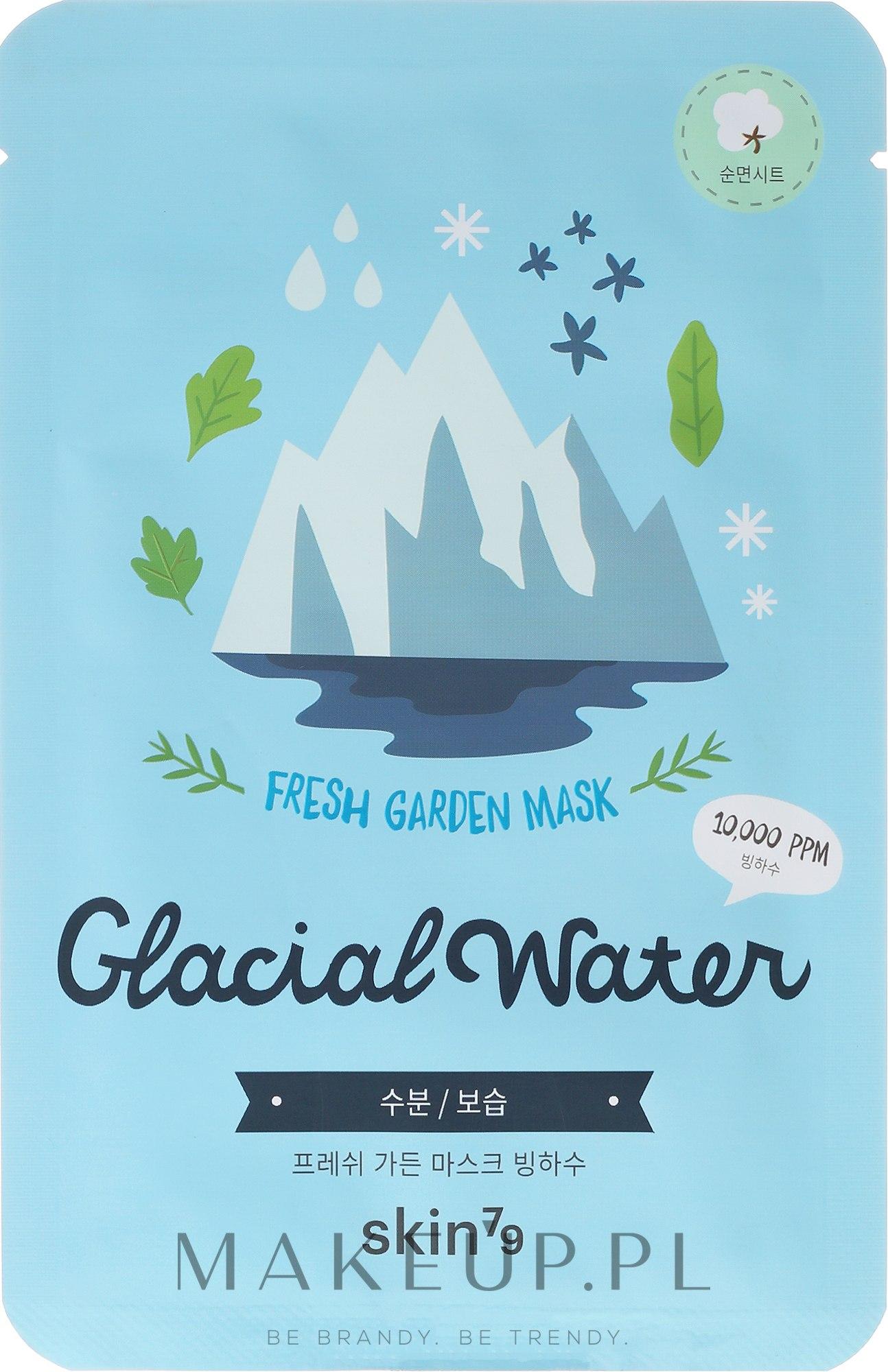 Odświeżająca maseczka do twarzy na tkaninie - Skin79 Fresh Garden Mask Glacial Water — фото 23 g