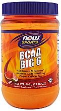 Kompleks 6 aminokwasów w proszku - Now Foods BCAA Big 6  — фото N1