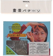 Kup Szablon do makijażu brwi, rozmiar A1, A2, A3, A4 - Magical Eyebrow Style