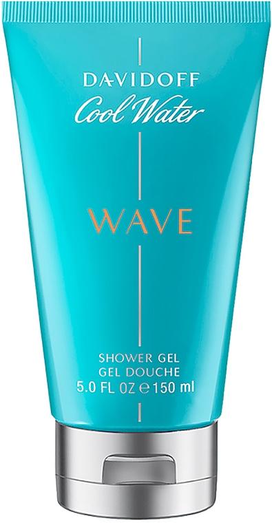 Davidoff Cool Water Wave - Perfumowany żel pod prysznic dla mężczyzn — фото N1