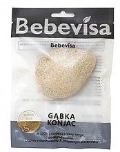 Kup Gąbka konjac do mycia twarzy, kropla, Łupina orzecha włoskiego i czystość - Bebevisa Konjac Sponge
