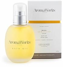 Kup Odprężający olejek do kąpieli - AromaWorks Serenity Bath Oil