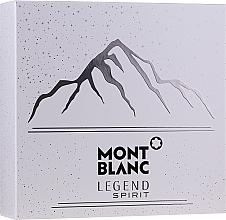 Kup Montblanc Legend Spirit - Zestaw (edt 100 ml + ash/balm 100 ml + sh/gel 100 ml)