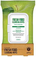 Kup PRZECENA! Nawilżane chusteczki do demakijażu z ekstraktem z jabłka - Superfood For Skin Facial Cleansing Wipes Apple *