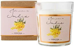 Kup Świeca zapachowa w szkle Mimoza - Ambientair Le Jardin de Julie Mimosa