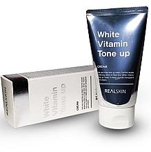 Kup Przeciwsłoneczny krem do twarzy i ciała SPF 50 - Real Skin White Vitamin Tone-Up Cream
