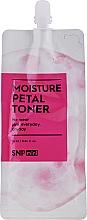 Kup Ceramidowy tonik nawilżający do twarzy - SNP Mini Moisture Petal Toner (próbka)