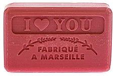 Kup Marsylskie mydło w kostce Kocham cię - Foufour Savonnette Marseillaise I Love You