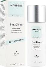 Oczyszczający balsam do skóry tłustej przeciw zaskórnikom - Marbert Pura Clean Regulating Lotion — фото N1